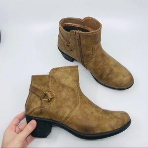easy street brown booties